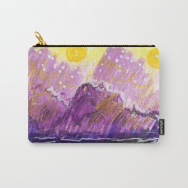 Golden Moons Carry-All Pouch