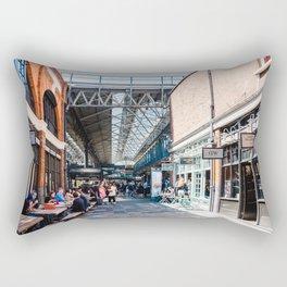 Old Spitalfields Market in London II Rectangular Pillow