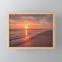 Sunburst at Sunset Framed Mini Art Print