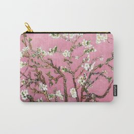 Vincent van Gogh Blossoming Almond Tree (Almond Blossoms) Pink Sky Carry-All Pouch