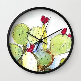 The Fruits of the Sun Wall Clock