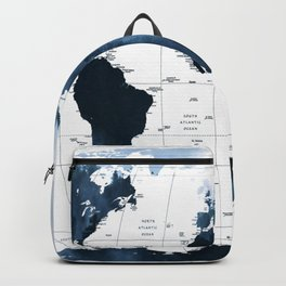 ALLOVER THE WORLD-Woods fog map Backpack