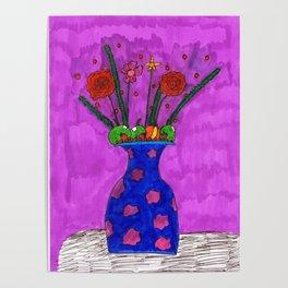 Flower Blossom Delight Poster