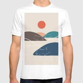 Cat Landscape 1 T-shirt