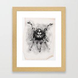 Sketch #4 Framed Art Print