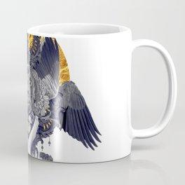 Black Feathers Coffee Mug