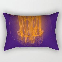 Purple Light Rectangular Pillow
