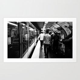 Subway - Charles de Gaulle Art Print
