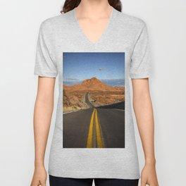 Valley of Fire Unisex V-Neck