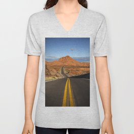 Valley of Fire Unisex V-Neck