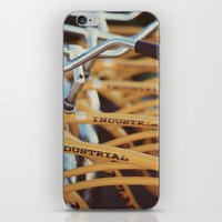 industrial iPhone & iPod Skins featuring Industrial by Alicia Bock
