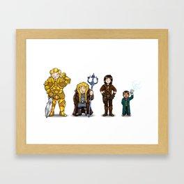 Rusty Team Framed Art Print