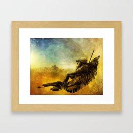 Forward Observer Framed Art Print