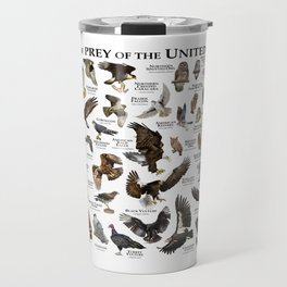 Birds of Prey of the United States Travel Mug