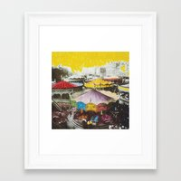 neutral milk hotel Framed Art Prints featuring Neutral Milk Hotel by carlyborror