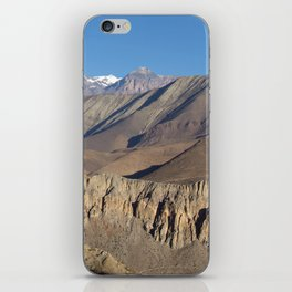 Scenery from Road to Jomsom iPhone Skin