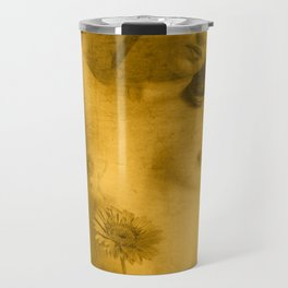 Nude Art Gold Travel Mug