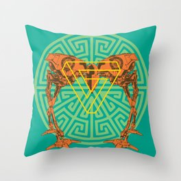 Sempiternal Explorer Throw Pillow