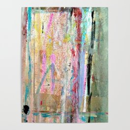 Colorful Bohemian Abstract 1 Poster