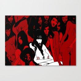 W.A.N.T Canvas Print
