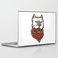 pitbull Laptop & iPad Skins featuring Pitbull by VentureDesign