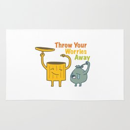 Throw Your Worries Away Rug