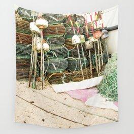 Fishing tackle III Wall Tapestry