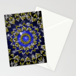 The Origin Gold and Silver With Plasma Stationery Cards