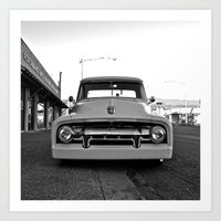 ford Art Prints featuring Roadside Ford by Vorona Photography