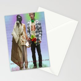 WHAT THE FUCK Stationery Cards