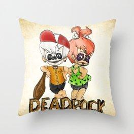 Dead Rock Throw Pillow