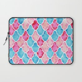 Colorful Moroccan style pattern Laptop Sleeve