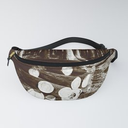 Stacked logs Fanny Pack