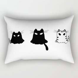 Ghost Cats Rectangular Pillow