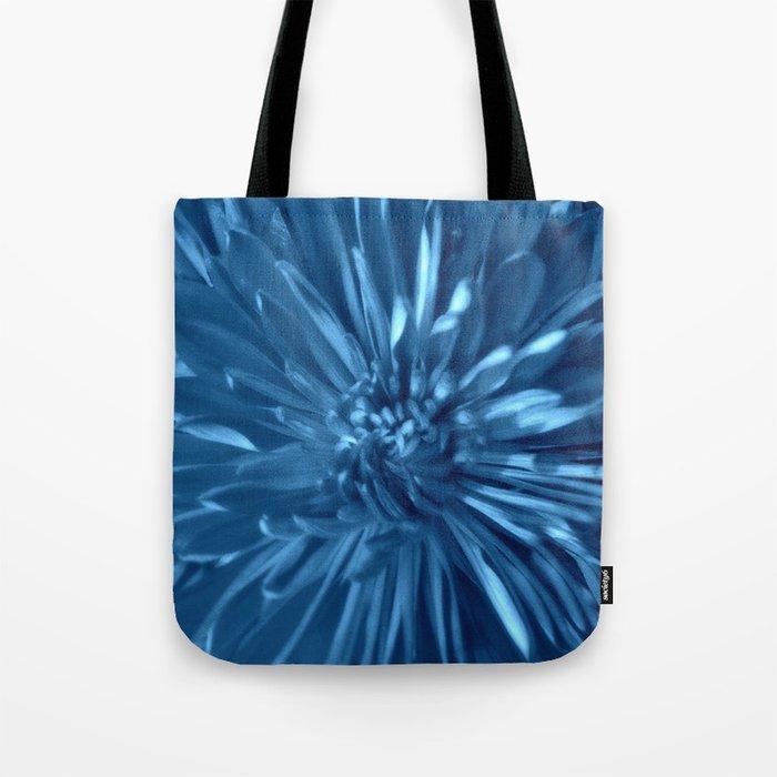 Flower   Flowers   Sky Blue Mums Tote Bag
