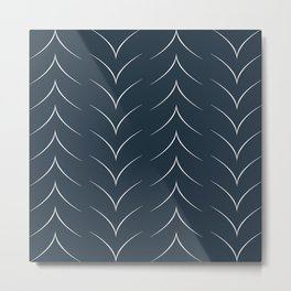 Artful Arrows Metal Print