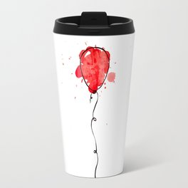 Red Balloon Travel Mug