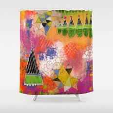 Circus on the Summit Shower Curtain