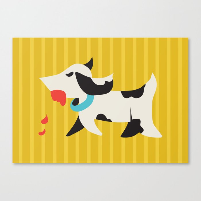 Zombie Dog Harriet Canvas Print