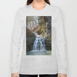 Alone in Secret Hollow with the Caves, cascades, and Critters, No.4 of 21 Long Sleeve T-shirt