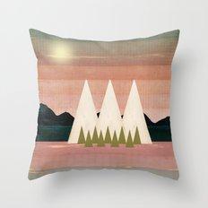 Climb Every Mountain Throw Pillow