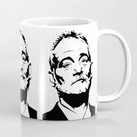 bill murray Mugs featuring Bill Murray The Best by Spyck