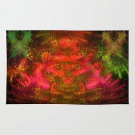 Luminous Fireplace Rug