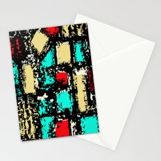 mid-century fabric pattern Stationery Cards