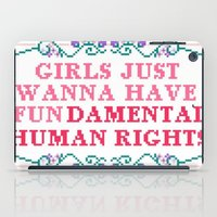 equality iPad Cases featuring EQUALITY by Hoeroine