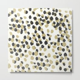 Leopard Glam Metal Print