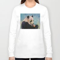 ice cream Long Sleeve T-shirts featuring Ice Cream by Michael Creese