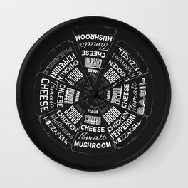 Choose a Slice Wall Clock