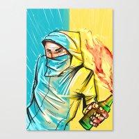 revolution Canvas Prints featuring Revolution by Alex Chystiakov