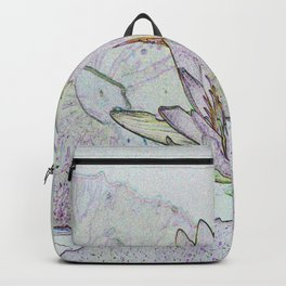 Waterlily Abstract Backpack